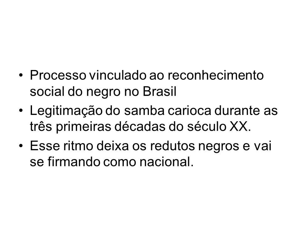 Processo vinculado ao reconhecimento social do negro no Brasil