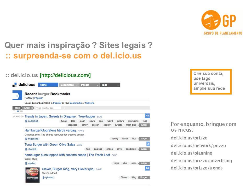Quer mais inspiração Sites legais