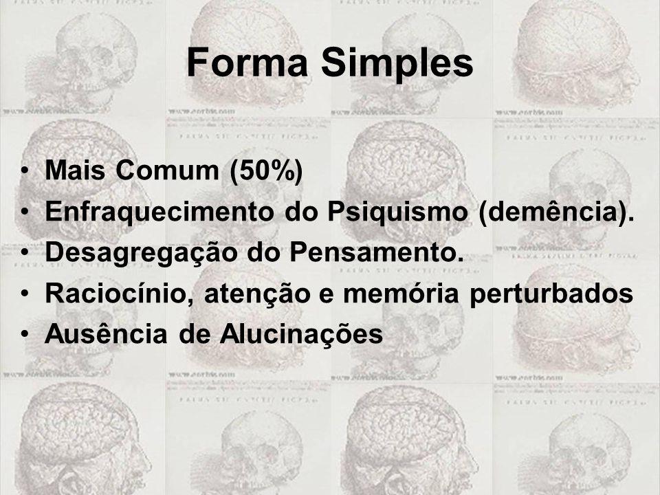 Forma Simples Mais Comum (50%)