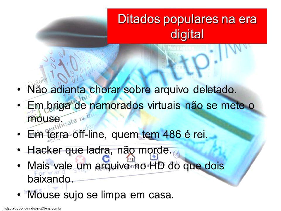 Ditados populares na era digital