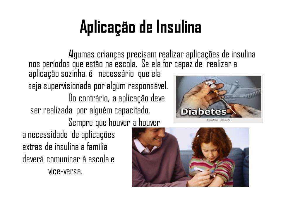 Aplicação de Insulina