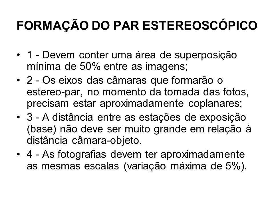 FORMAÇÃO DO PAR ESTEREOSCÓPICO