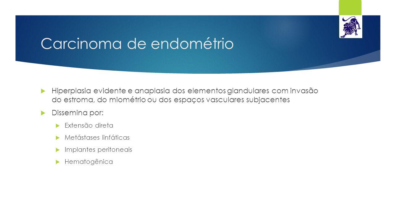 Carcinoma de endométrio