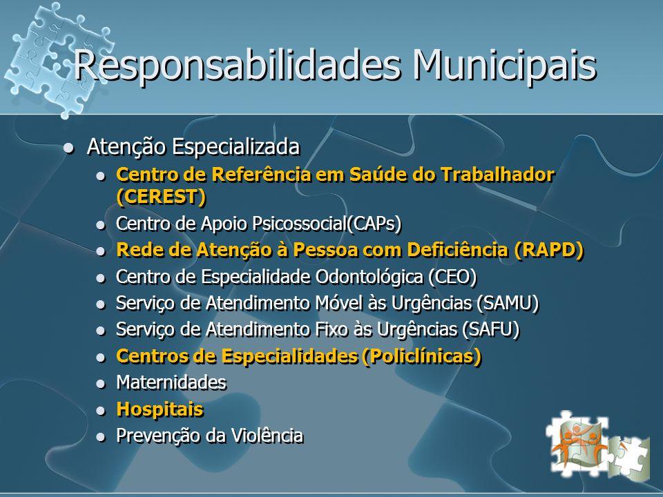 Responsabilidades Municipais