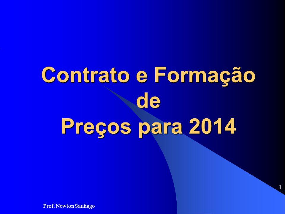 Contrato e Formação de Preços para 2014