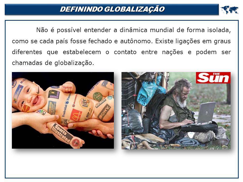 DEFININDO GLOBALIZAÇÃO
