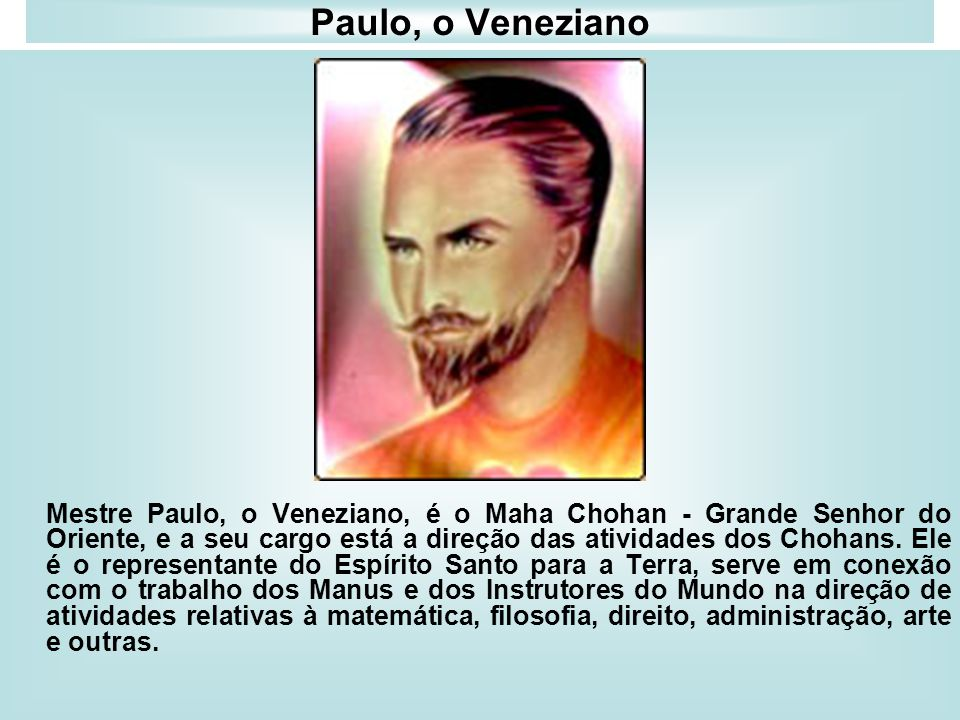 Paulo, o Veneziano