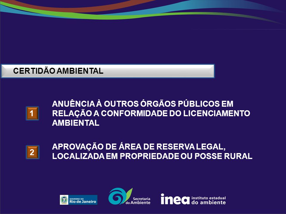 CERTIDÃO AMBIENTAL anuência À outros órgãos públicos em relação A conformidade do licenciamento ambiental.