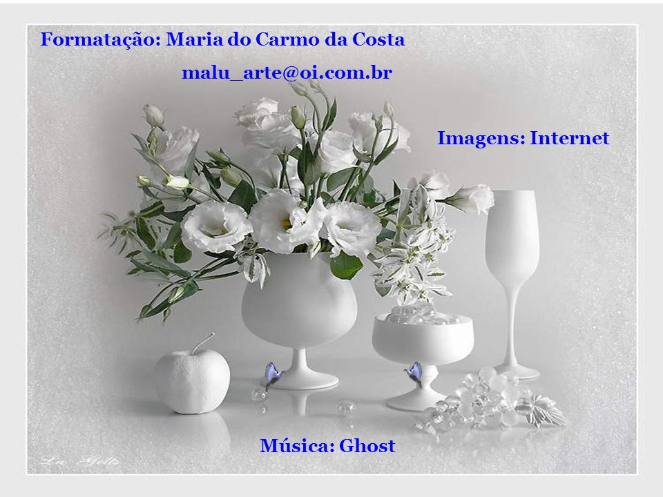 Formatação: Maria do Carmo da Costa