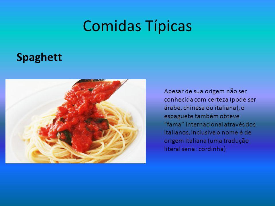 Comidas Típicas Spaghett