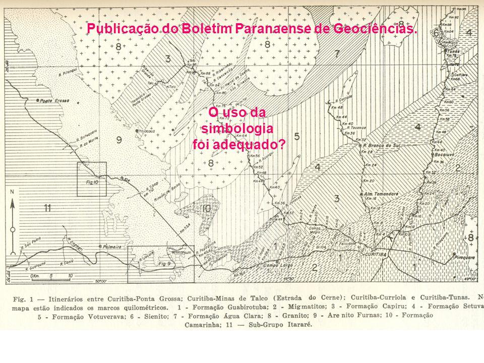 Publicação do Boletim Paranaense de Geociências.