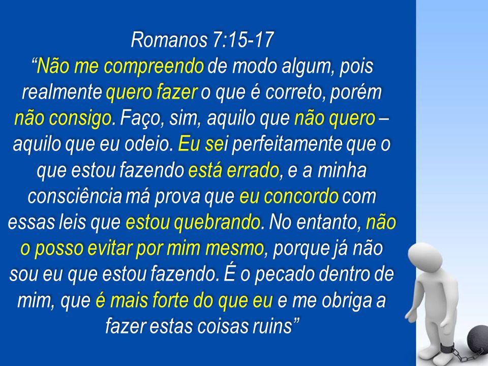Romanos 7:15-17