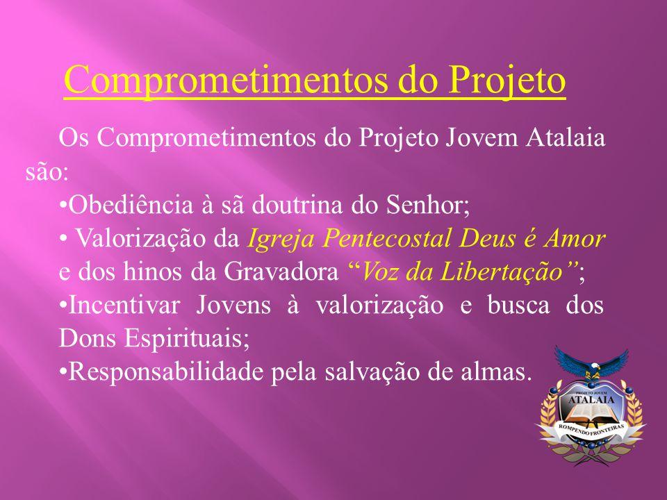 Comprometimentos do Projeto