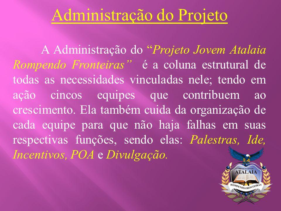 Administração do Projeto