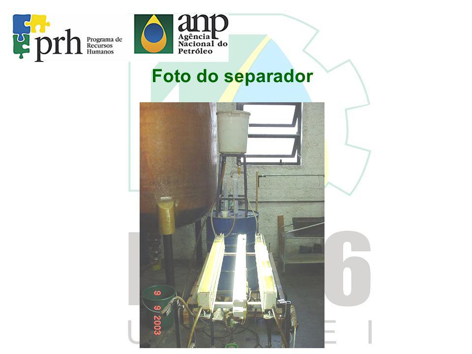 Foto do separador