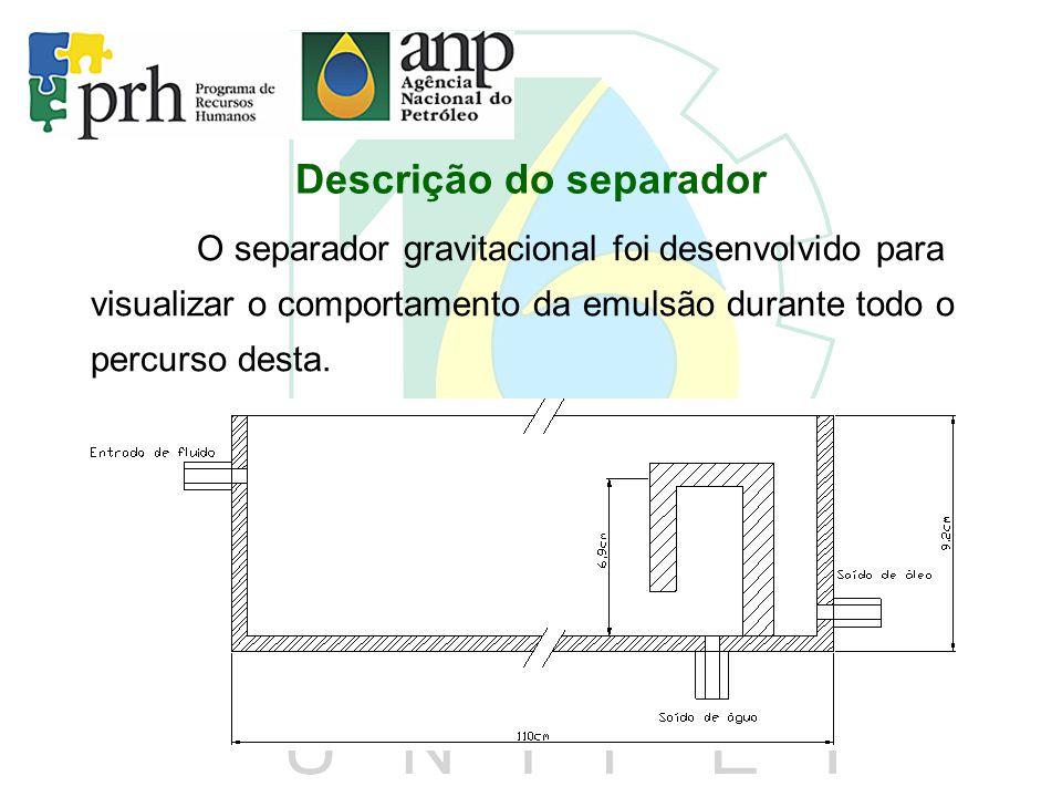 Descrição do separador