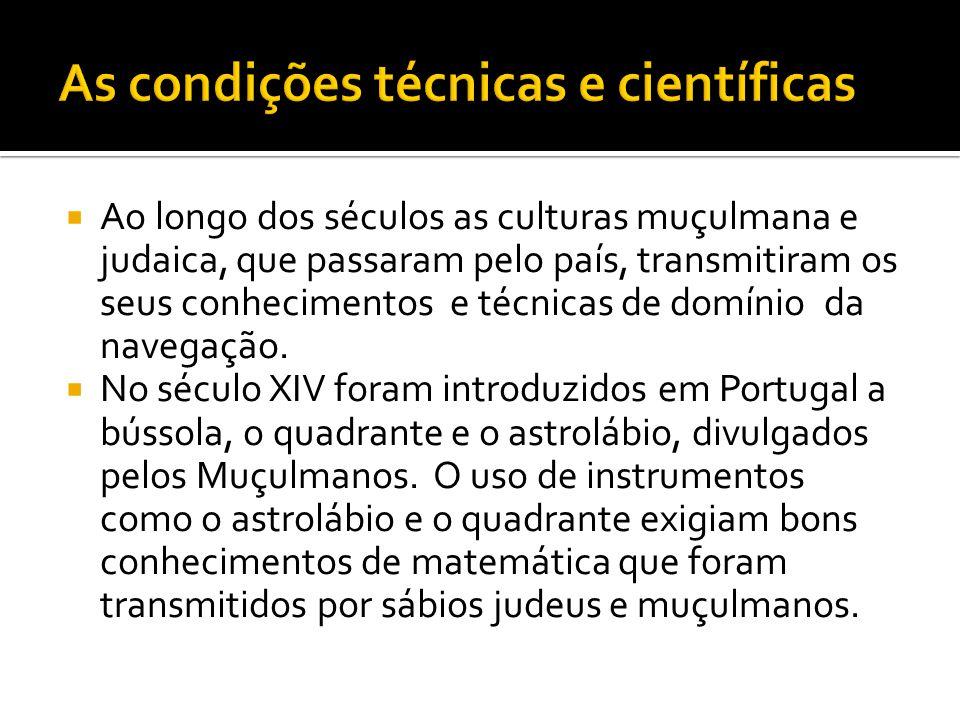 As condições técnicas e científicas