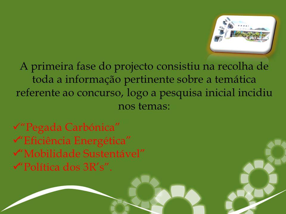 Eficiência Energética Mobilidade Sustentável Política dos 3R's .