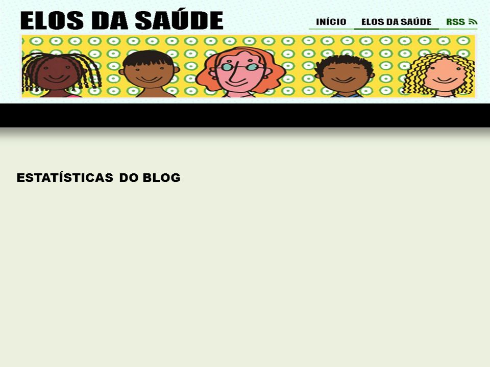 ESTATÍSTICAS DO BLOG