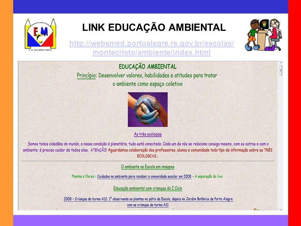 LINK EDUCAÇÃO AMBIENTAL