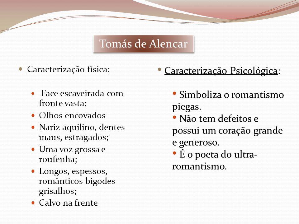 Tomás de Alencar Caracterização Psicológica: