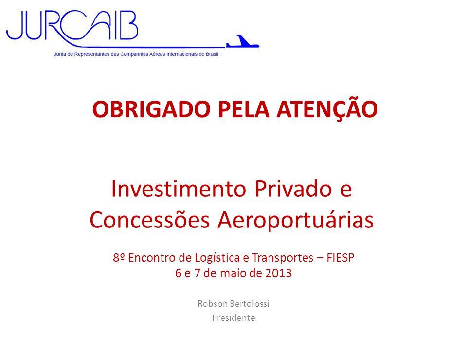 Investimento Privado e Concessões Aeroportuárias