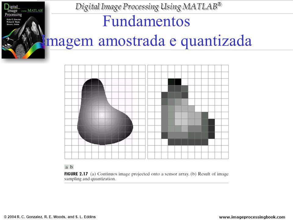 Fundamentos Imagem amostrada e quantizada