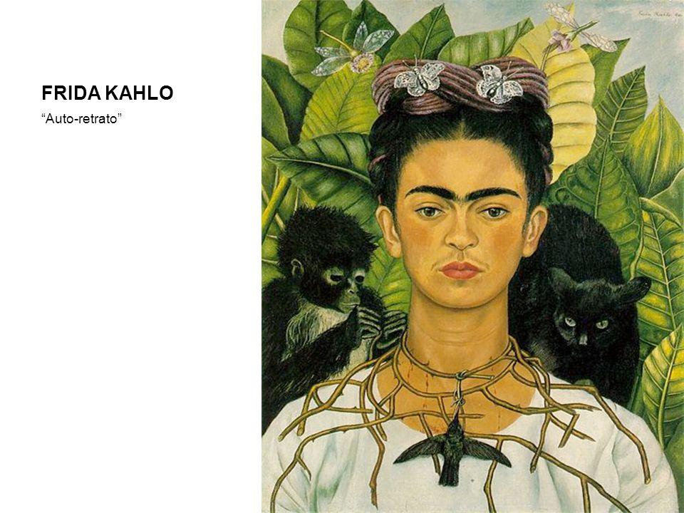 FRIDA KAHLO Auto-retrato