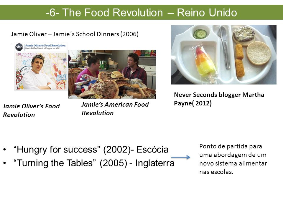 -6- The Food Revolution – Reino Unido