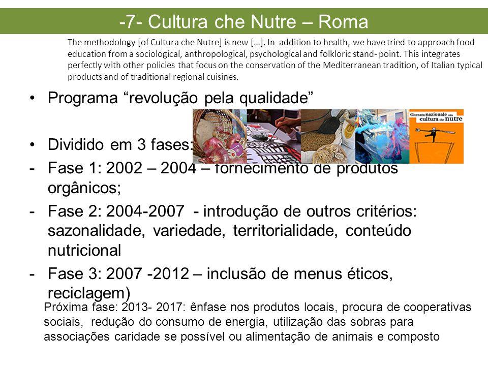 -7- Cultura che Nutre – Roma