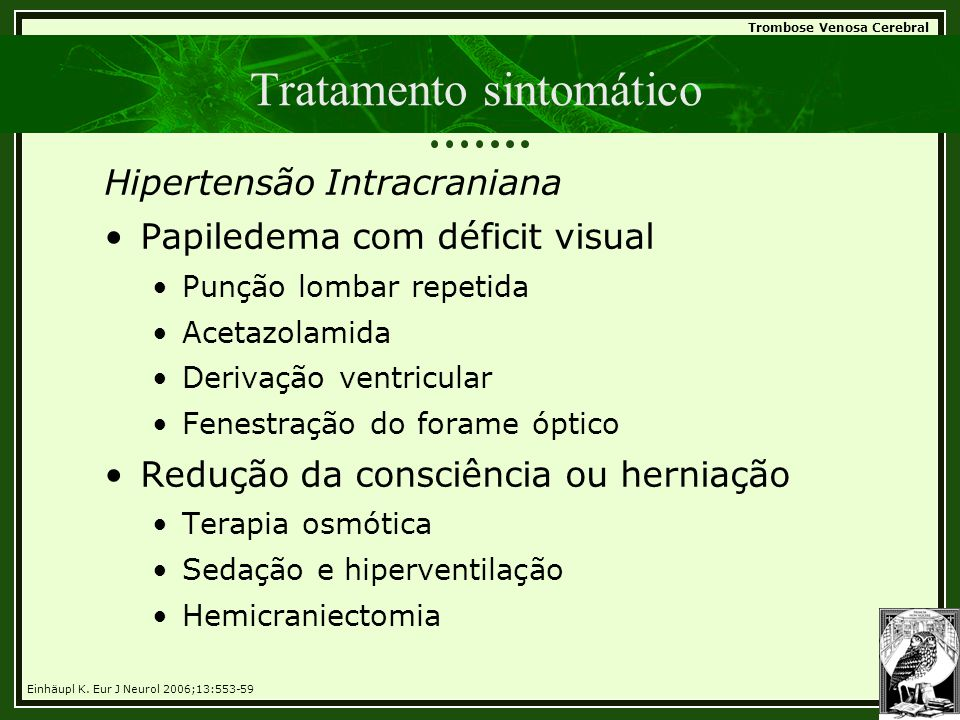 Tratamento sintomático