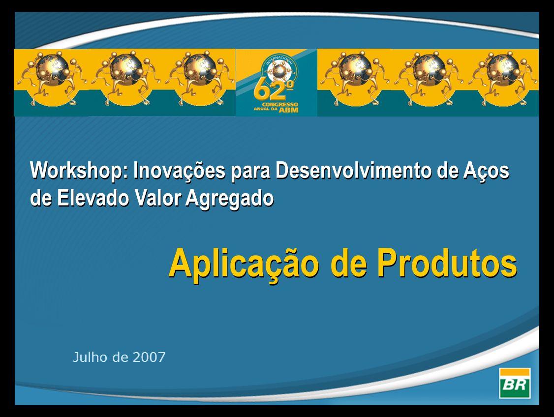 Workshop: Inovações para Desenvolvimento de Aços de Elevado Valor Agregado