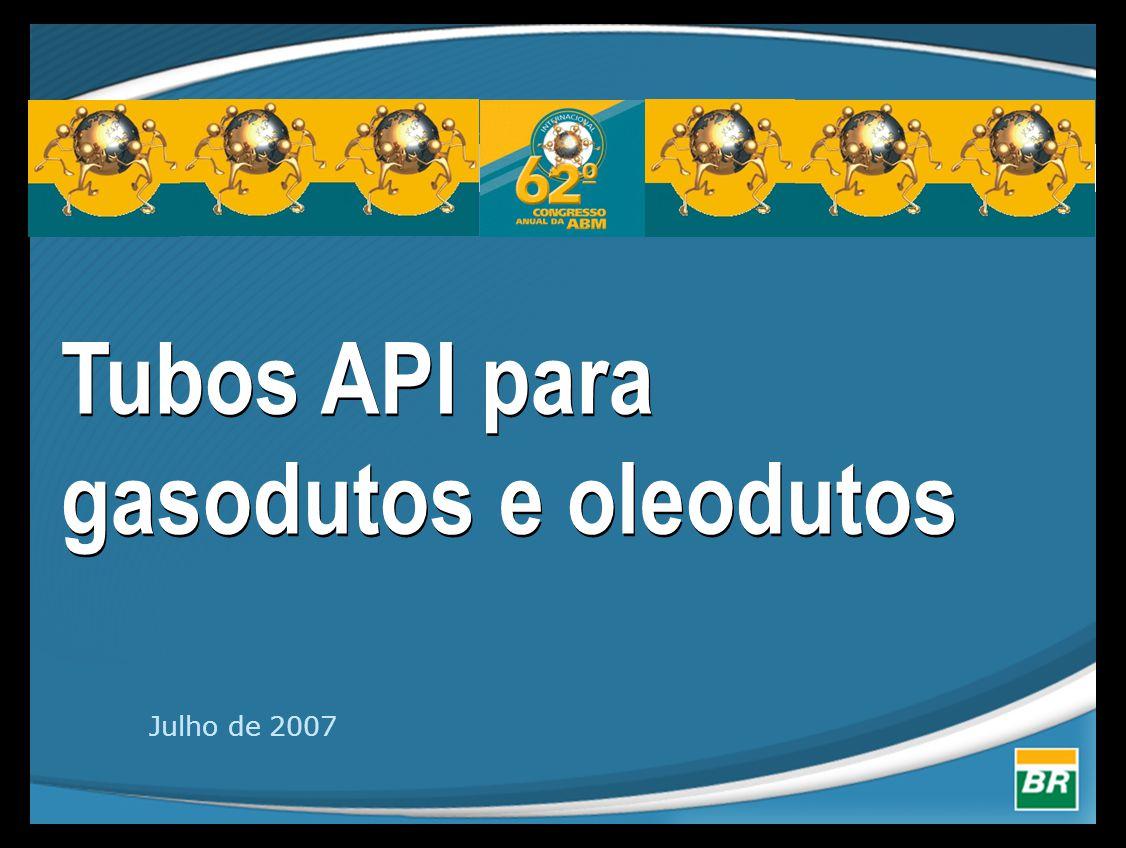 Tubos API para gasodutos e oleodutos