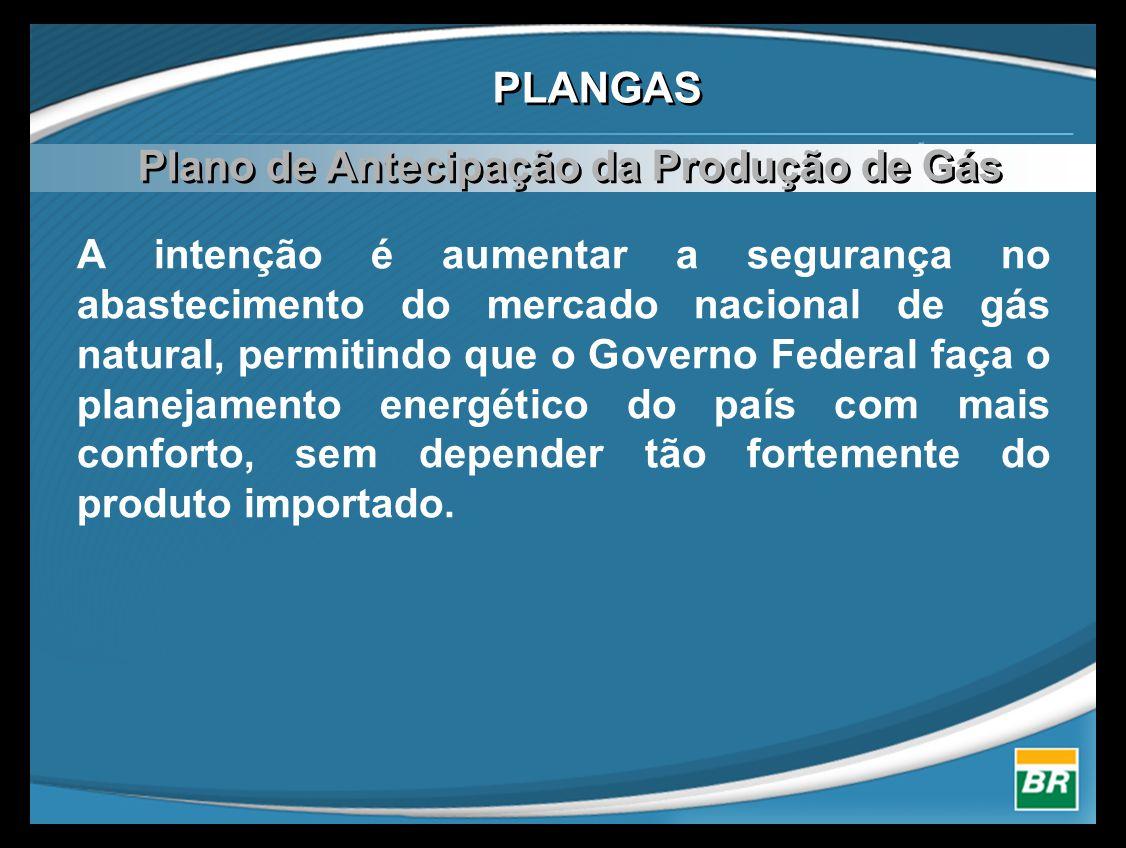 Plano de Antecipação da Produção de Gás