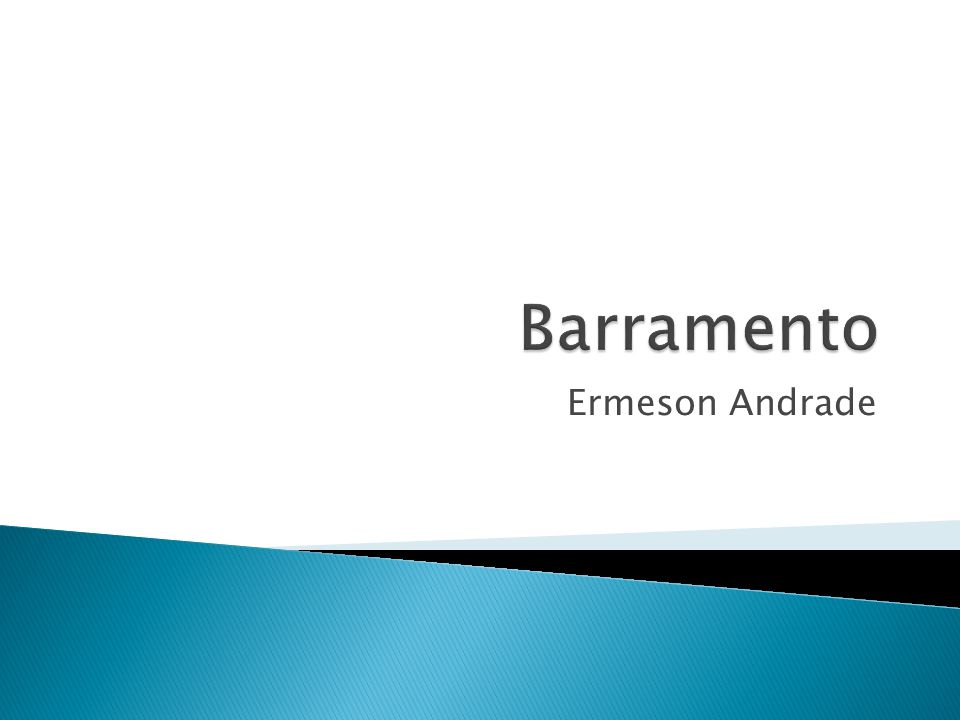 Barramento Ermeson Andrade