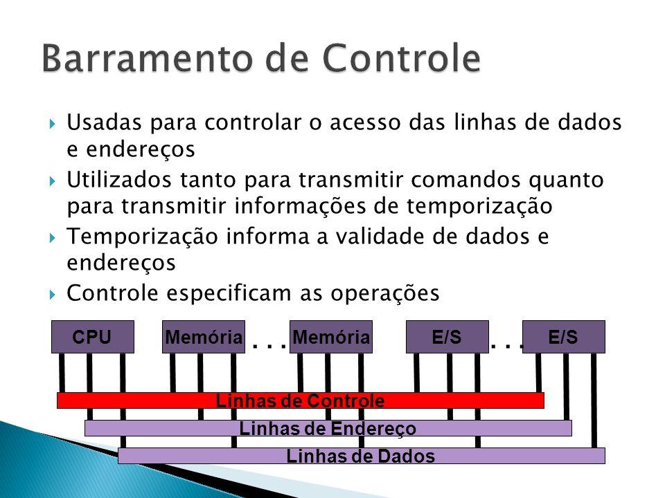Barramento de Controle