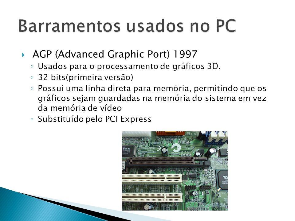 Barramentos usados no PC