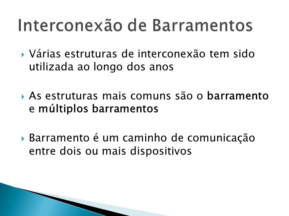Interconexão de Barramentos