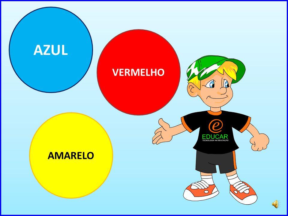AZUL VERMELHO AMARELO