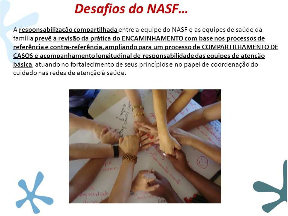 Desafios do NASF…