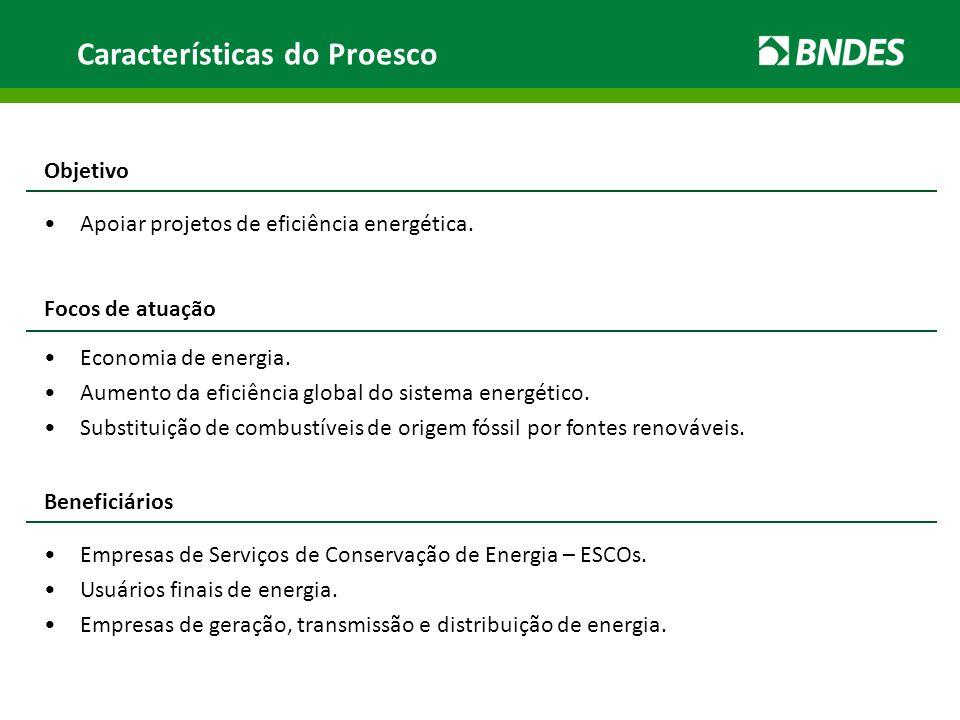 Características do Proesco