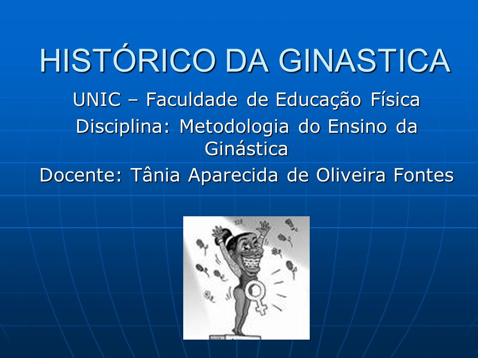 HISTÓRICO DA GINASTICA