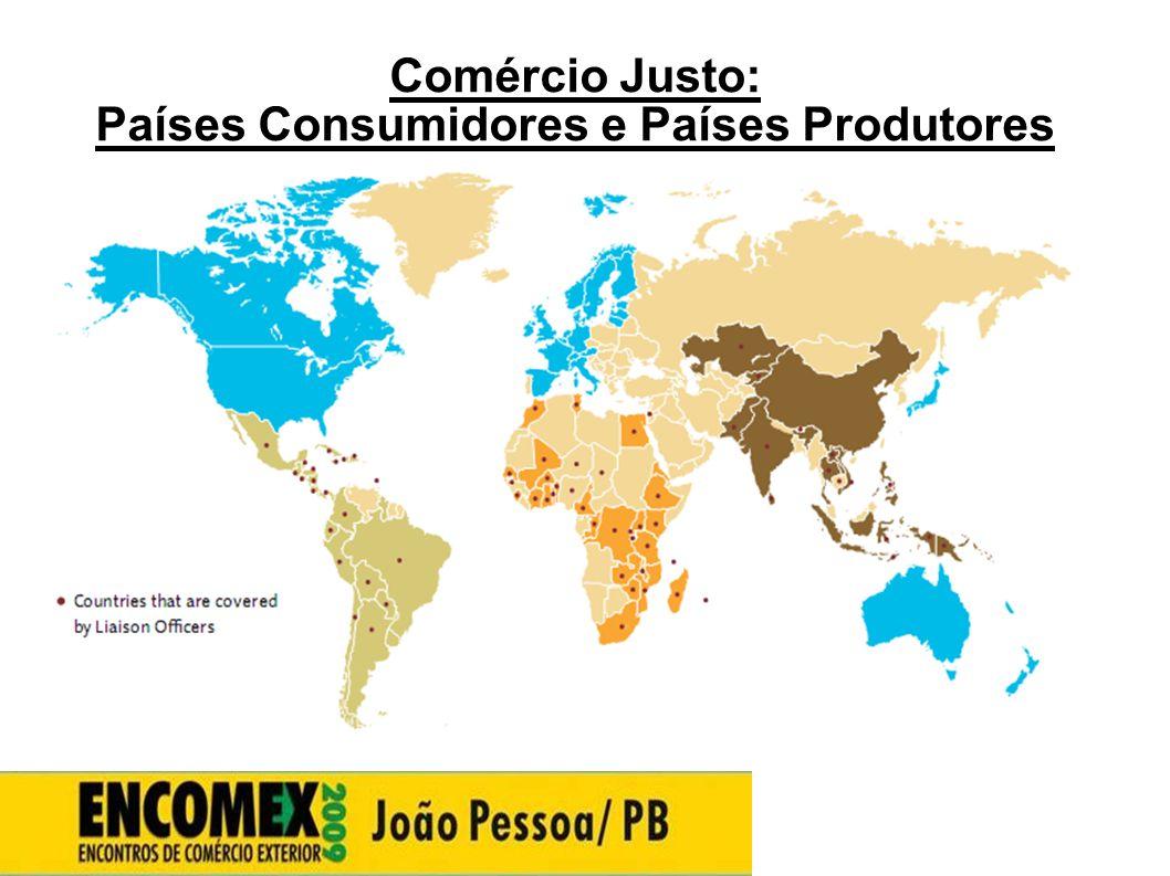 Países Consumidores e Países Produtores