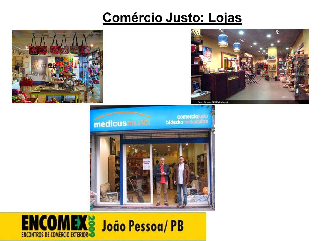 27272727 Comércio Justo: Lojas 27