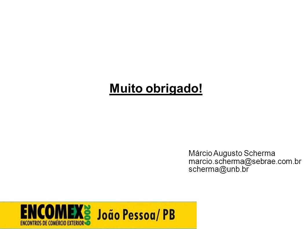 Muito obrigado! 33333333 Márcio Augusto Scherma