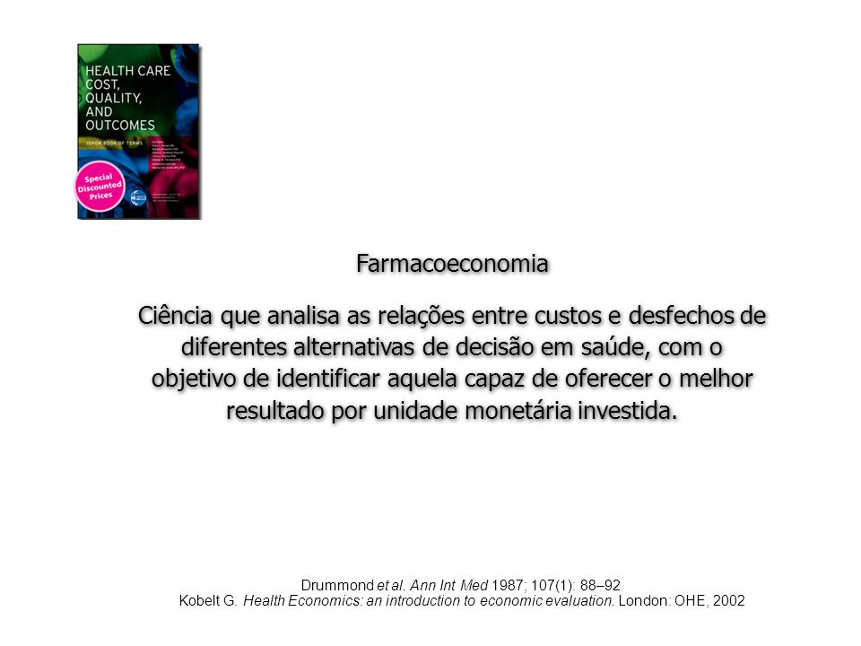 Drummond et al. Ann Int Med 1987; 107(1): 88–92