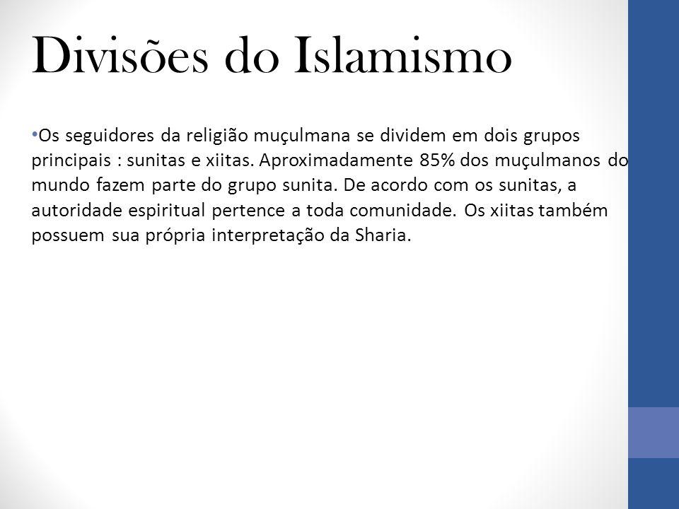 Divisões do Islamismo