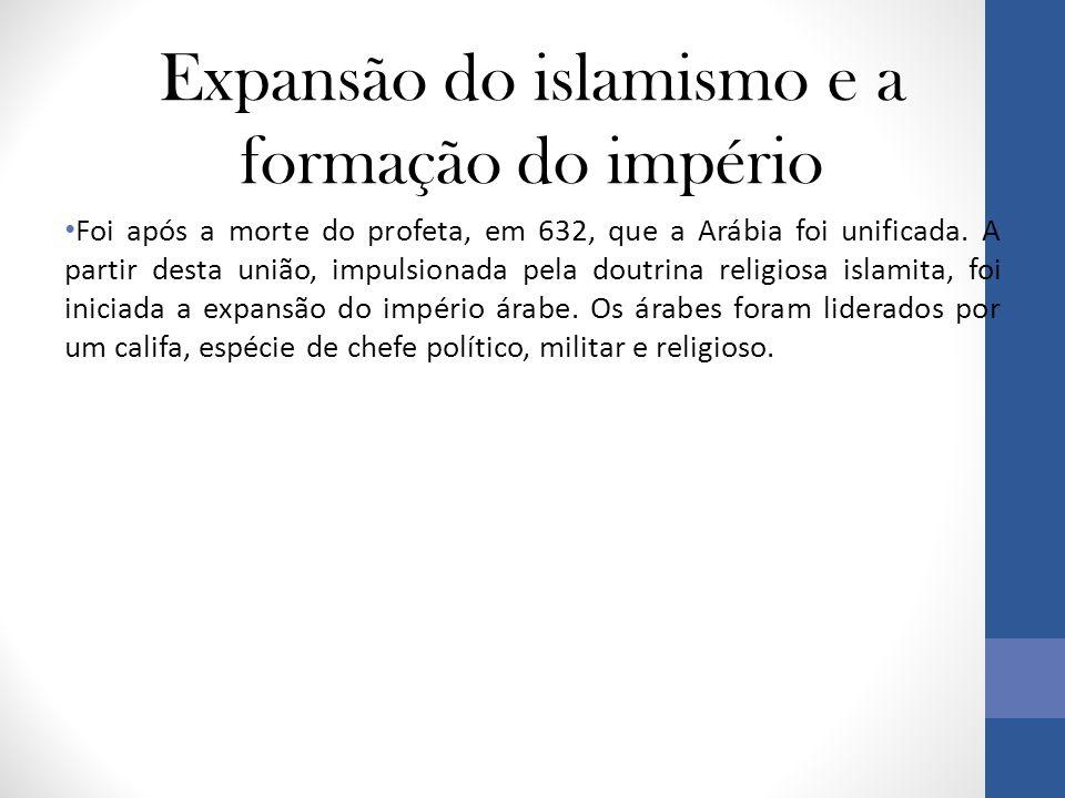 Expansão do islamismo e a formação do império