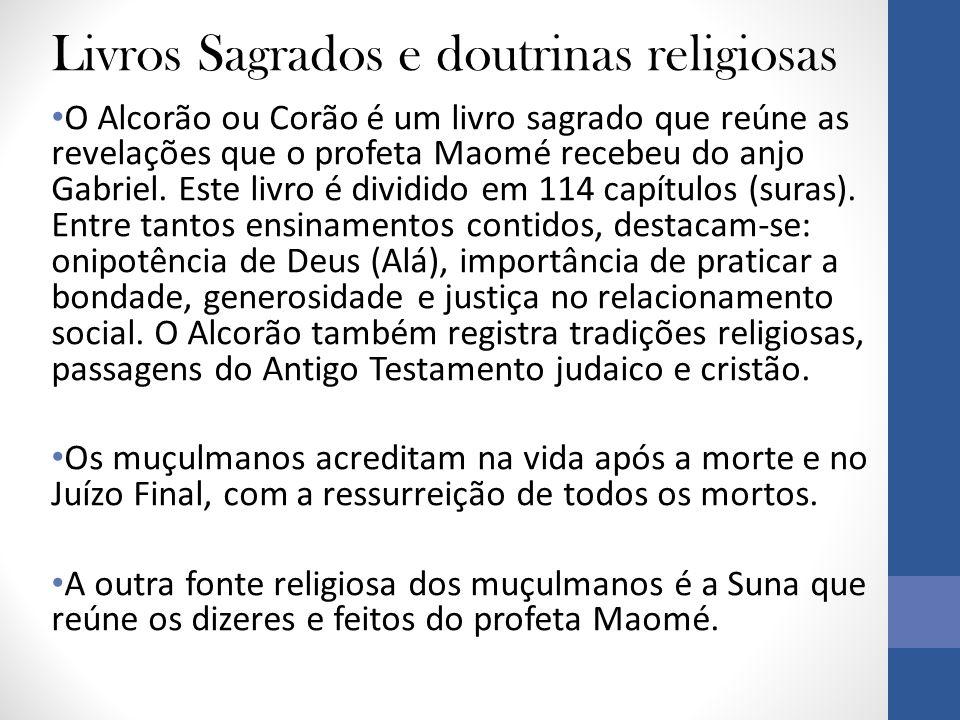 Livros Sagrados e doutrinas religiosas