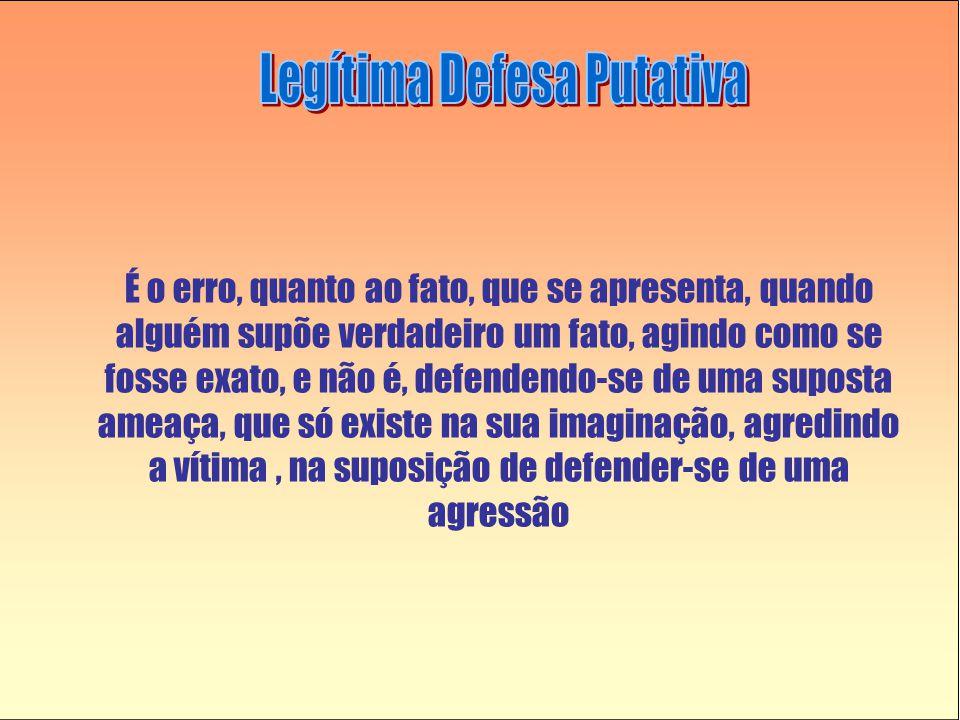 Legítima Defesa Putativa
